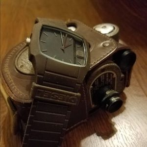 Diesel Trojan Watch New Brown